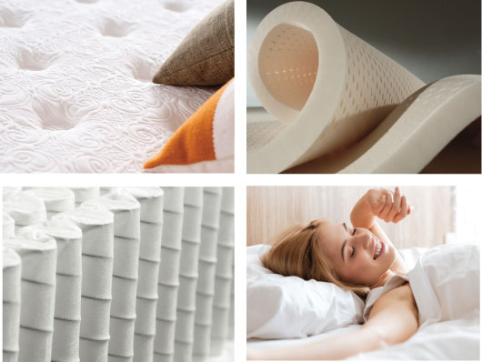 How mattresses are made details