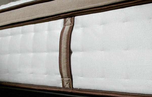 Powercore Estate mattress border and handle details