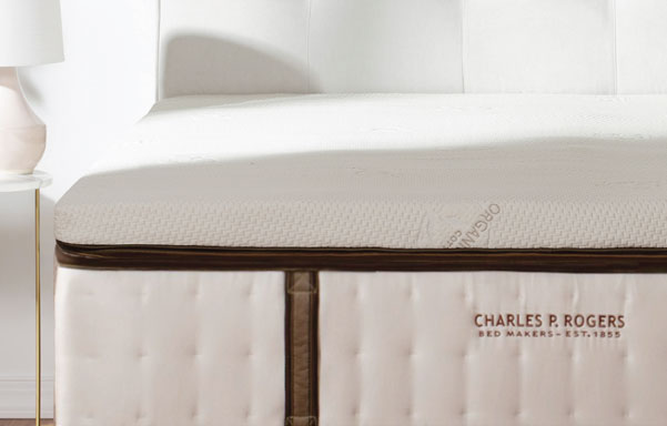 Real Bed natural latex mattress topper.