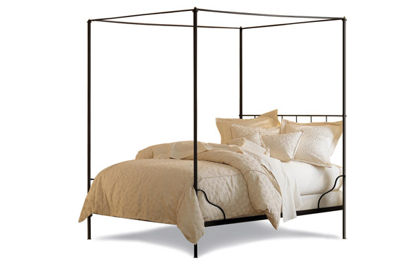 Cairo iron canopy bed