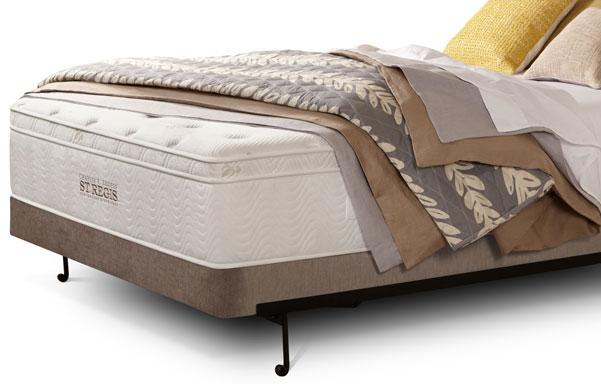 St. Regis queen mattress with foundation