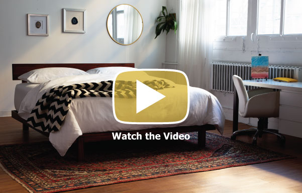 Alana Platform Bed Video