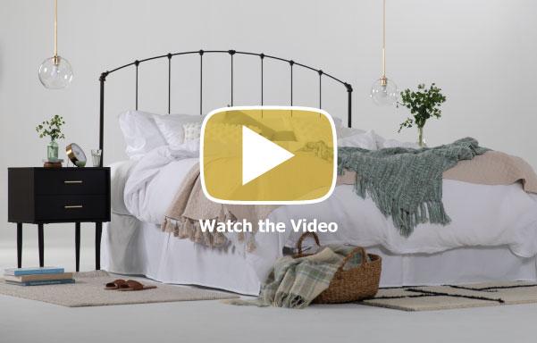Madera Platform Bed Video
