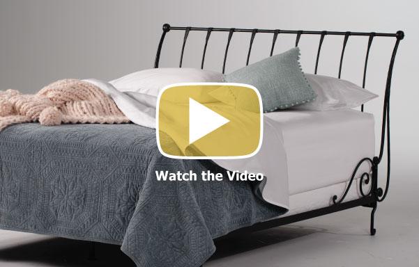 Paris Sleigh Bed Video