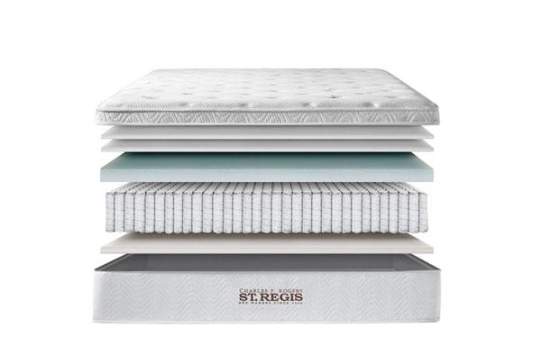 St. Regis 5 layer comfort system