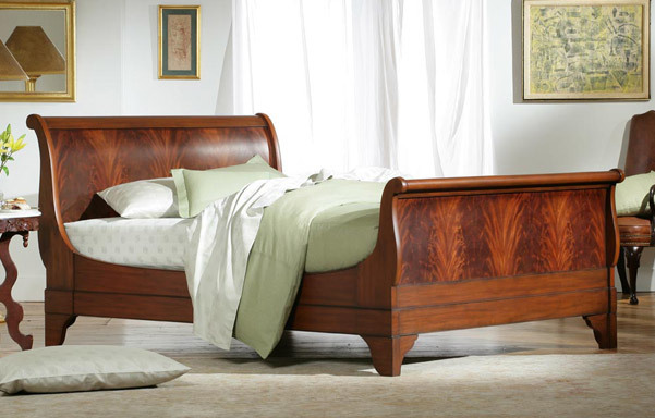 Chambord Flame Mahogany Bed Sleigh Beds Charles P Rogers Est 1855