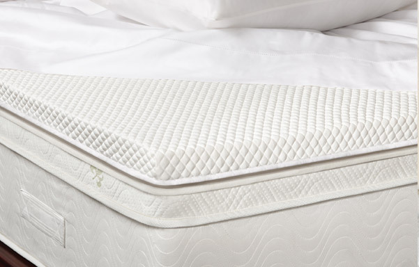 Cool-Soft latex and nano coil mattress topper