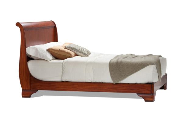 Fairnoble queen sleigh bed – tall