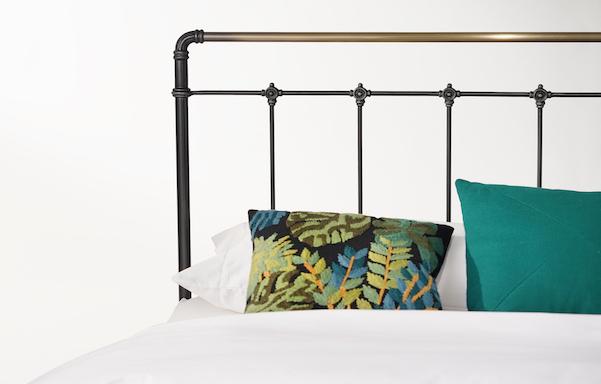 Leighton Iron Bed Detail