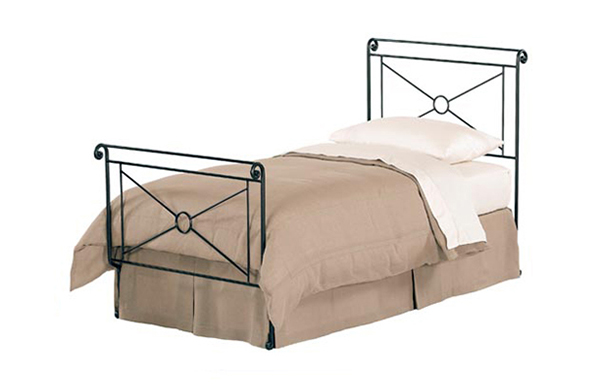 Campaign twin bed