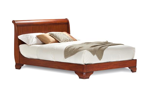 Fairnoble queen sleigh bed – standard height