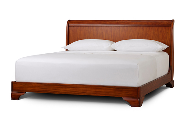 Fairnoble king sleigh bed – standard height