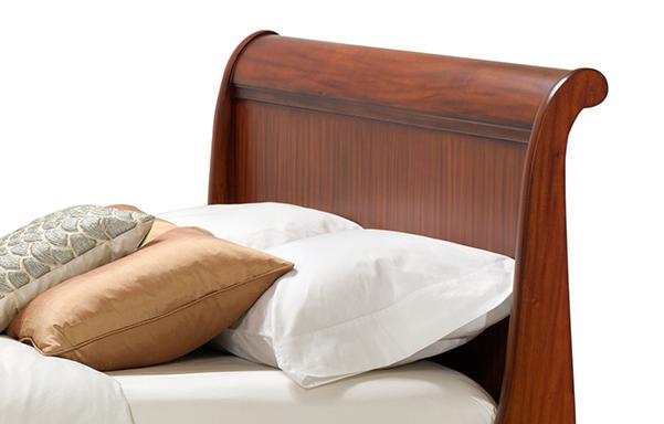 Fairnoble sleigh bed headboard detail
