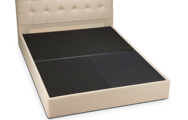 San Diego bed upholstered deck for mattress