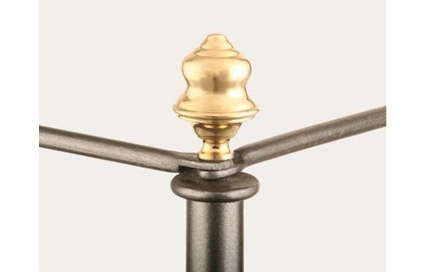 Cairo canopy bed acorn finial