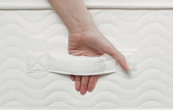 St. Regis mattress handle detail