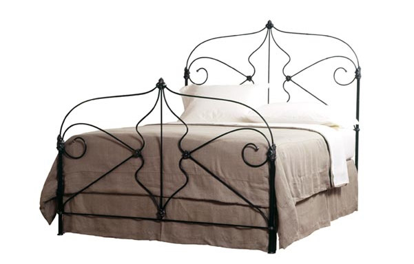 Marseille iron bed room setting