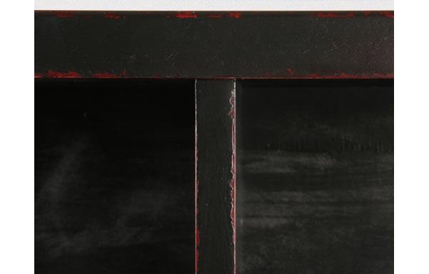 Walden bed black finish