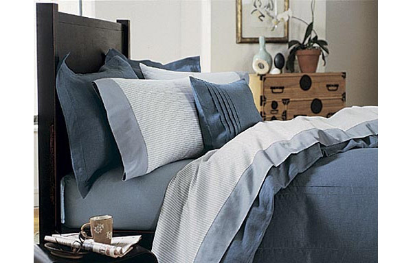 Walden bed headboard detail