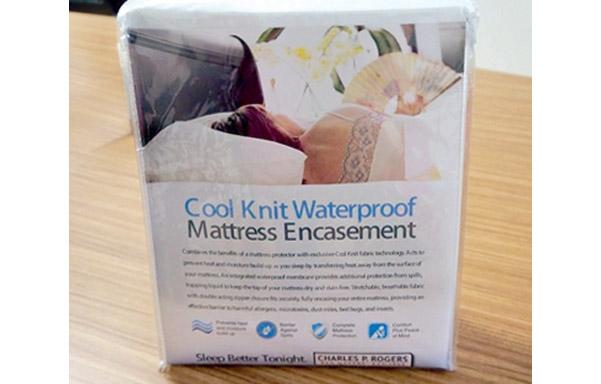 Cool Knit mattress encasement package