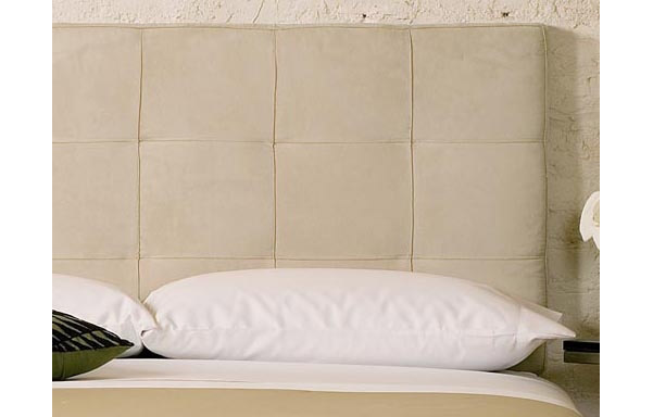 Mies daybed cream ultra suede backrest