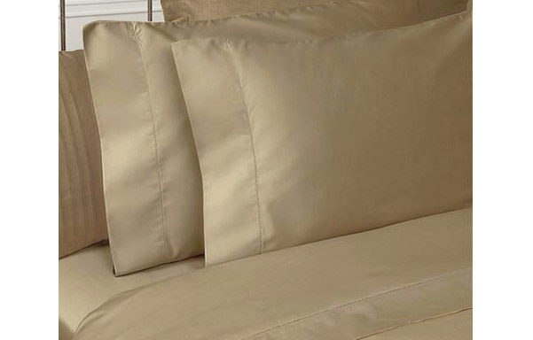 Prima 400 thread count cotton sheet set – chamomile