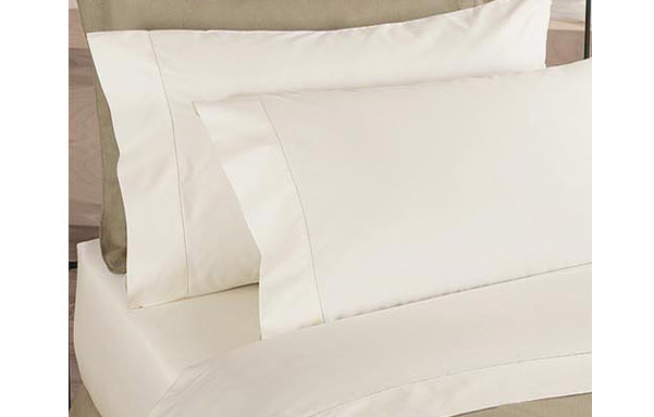 Prima 400 thread count cotton sheet set – ivory