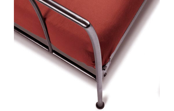 Milan hand-forged iron curve detail
