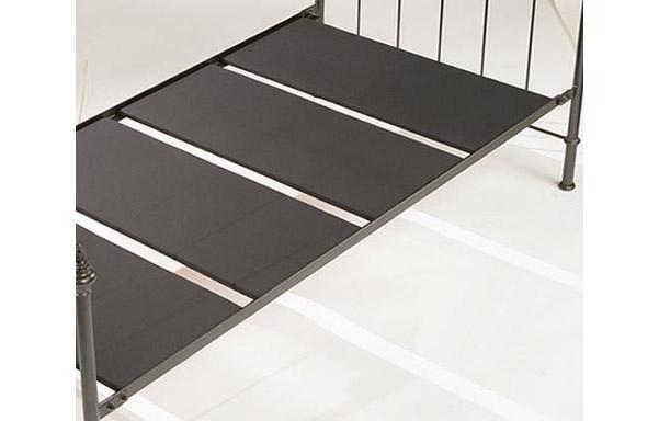 Milan chaise upholstered platform for mattress