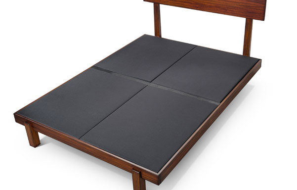 Upholstered platform for proper mattress support