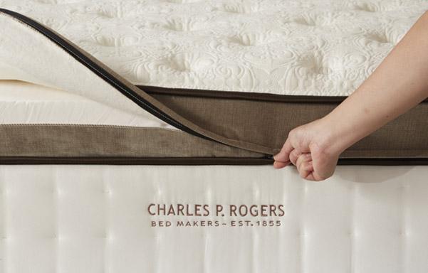 Removable-replaceable zipper top quilt