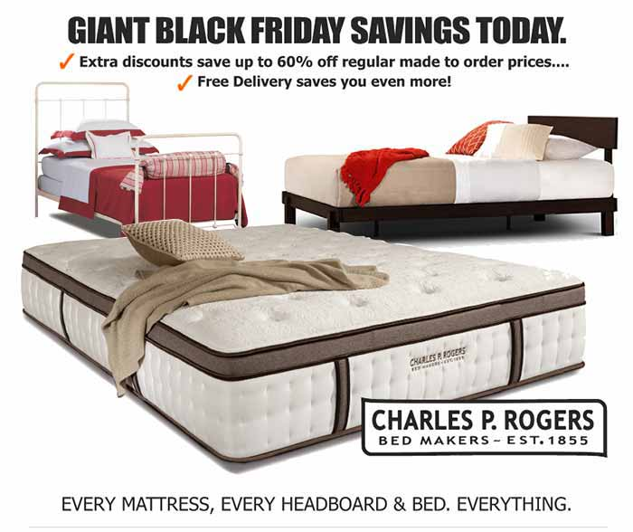 Giant Black Friday Savings On Beds Mattresses Today
